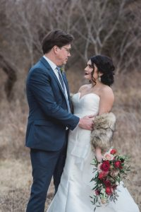 Winter Wedding at Cooper's Ridge